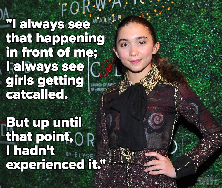'Girl Meets World' Star Rowan Blanchard Became a Feminist After Being Catcalled at Age 12