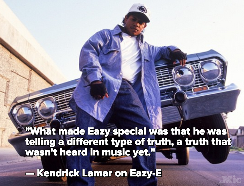 Kendrick Lamar Speaks About How Eazy-E Changed Music Forever in 'Paper' Magazine Essay