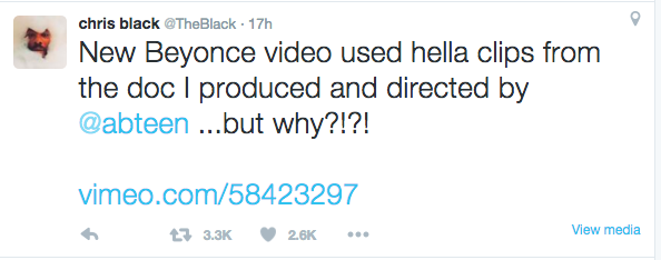 "Filmmaker Accuses Beyoncé of Stealing Footage for ""Formation"" Video — Here's What Bey Says"