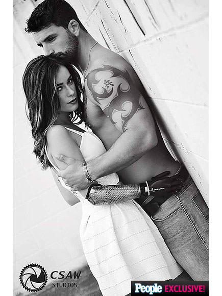 Amputee Brian Taylor Urruela and Model Rebekah Marine Posed for an Empowering Photo Shoot