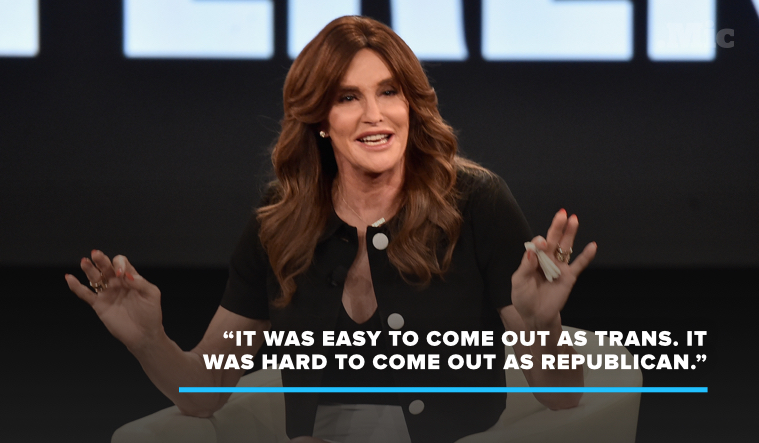 Caitlyn Jenner Said It Was Easier to Come Out as Trans Than Republican