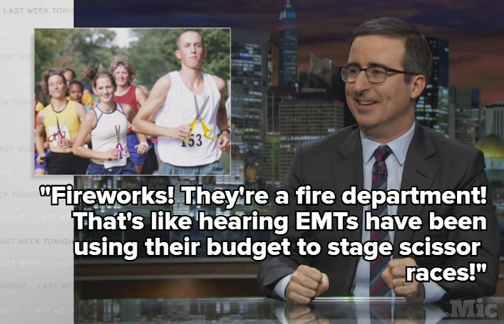 John Oliver Turned His Sights On the $100 Billion Problem You Never Knew Existed