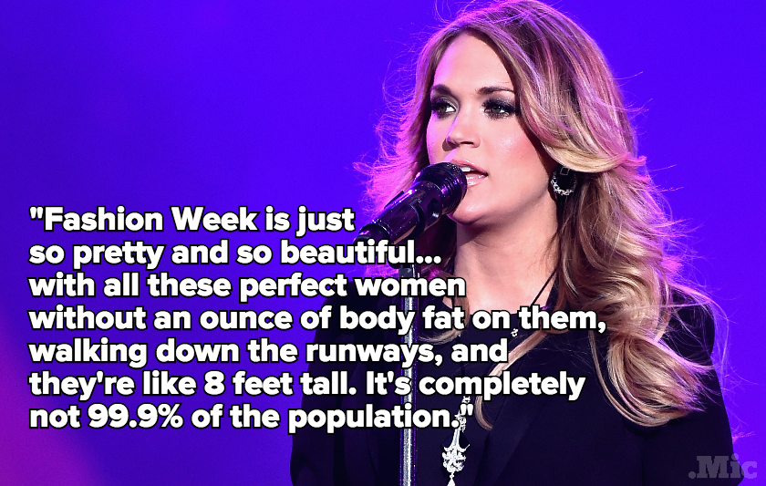 Carrie Underwood Just Nailed the Problem With Fashion Week — and Showed Us an Alternative