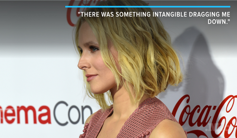 Kristen Bell Penned a Heartfelt Essay About Her Battle With Depression