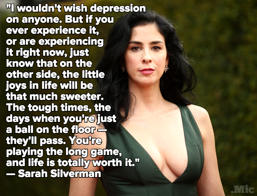 Sarah Silverman Just Opened Up About Her Battle With Depression in a Powerful Article