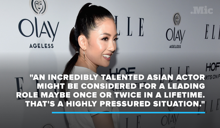 "Constance Wu: Asians Have to Work ""Like It's the Olympics"" to Compete With White Actors"