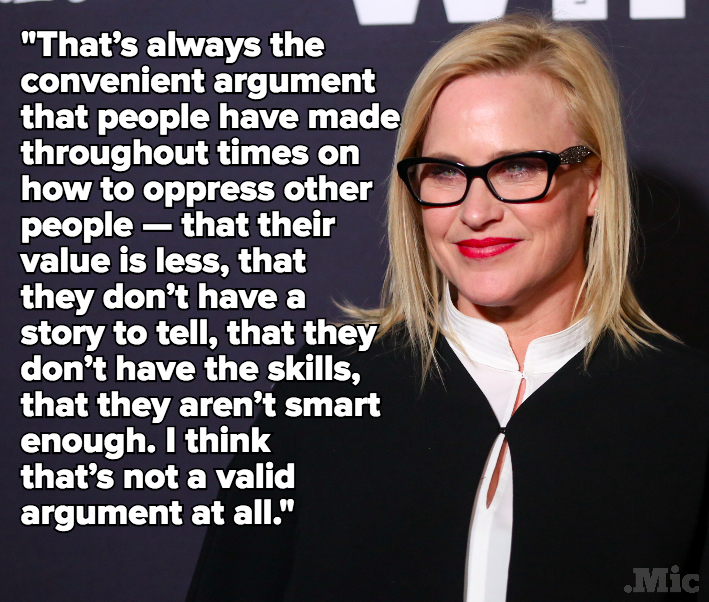 "Patricia Arquette on Lack of Film Diversity: ""People Are Smacking Into This Glass Ceiling"""