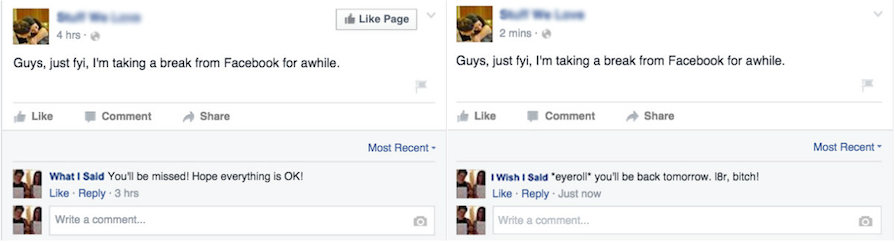 The 8 Comments We Wish We Could Leave Our Friends on Facebook