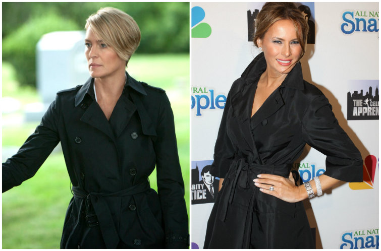 Melania Trump's Style Is Basically Claire Underwood From 'House of Cards'