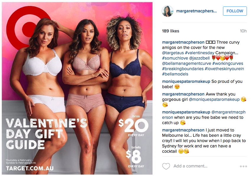 Target Australia Just Demonstrated How to Show Off Valentine's Day Lingerie