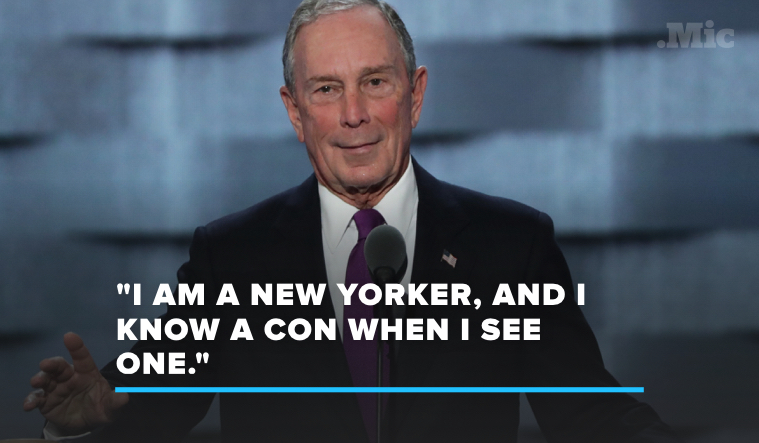 The 5 Most Devastating Burns in Michael Bloomberg's DNC Donald Trump Takedown
