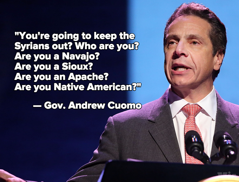 The Governor of New York Just Took a Bold Stand in Defense of Muslim Refugees