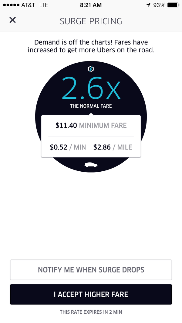 Here's How to Avoid Uber and Lyft Surge Pricing