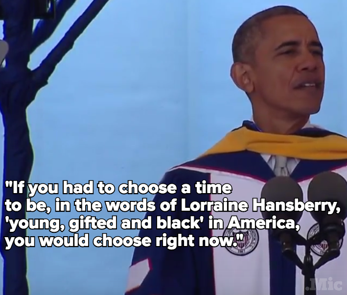 Obama's Howard University Commencement Speech Was One of the Best and Blackest He's Given