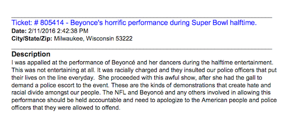 FCC Releases Beyoncé Super Bowl Performance Complaints (Spoiler: People Were Mad as Hell)