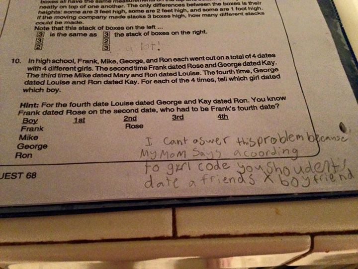 "A Fourth-Grader Just Taught the World the True Meaning of the Phrase ""Girl Code"""